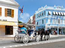 Hamilton Bermuda Carriage Ride by Susan Savad