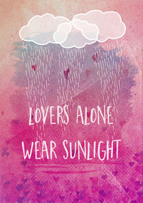 lovers alone wear sunlight