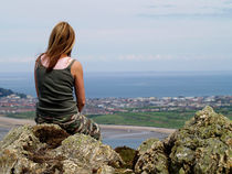 Girl-on-a-rock