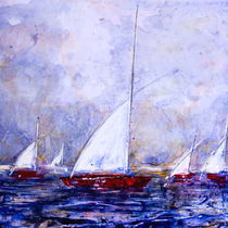 'Weiße Segel' by Chris Berger