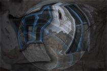 'Blaue Fenster' von Chris Berger
