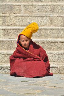 Young Tibetan Monk by Alexandra Lavizzari