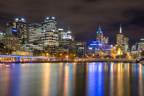 Melbourne at night von Felix Gross