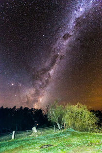 The milky way and the Australian night sky by Felix Gross