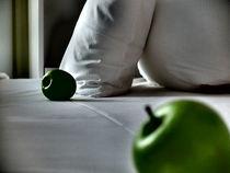 Äpfel auf einem Bett von Felix Meier