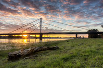 Rheinbrücke Duisburg von Kai Süselbeck