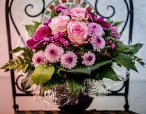 Blumenstrauß rosa von Lisa Schmidt