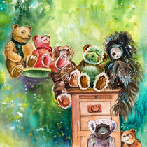 The Bears From The Yorkshire Moor von Miki de Goodaboom