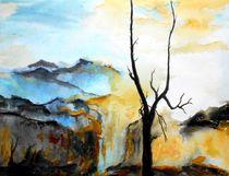 Landschaft by Eberhard Schmidt-Dranske