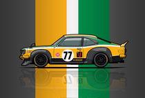 Mazda Savanna GT RX3 Racing Yoshimi Katayama (1975) von monkeycrisisonmars