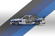Volvo 850 Saloon TWR BTCC Racing Super Touring Car (1995) by monkeycrisisonmars