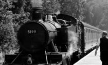 Steam Train by Harvey Hudson