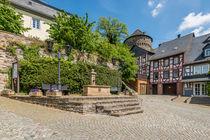 Herrstein-Rathausplatz von Erhard Hess