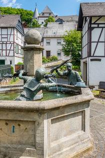 Herrstein-Hankelbrunnen 203 by Erhard Hess