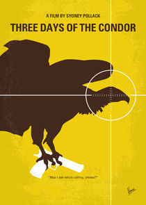 No659 My Three Days of the Condor minimal movie poster by chungkong