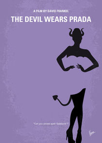 No661 My The Devil Wears Prada minimal movie poster by chungkong