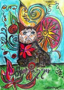 Monday Cat von Susanne Nürnberger