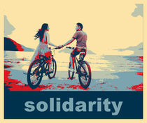 'solidarity' von Wolfgang Pfensig