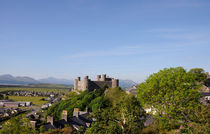 Harlech Castle by Harvey Hudson
