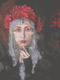 Petal Gothic Portrait von Galen Valle