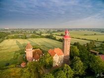 Dahme Leuchtturm Luftaufnahme Ostsee by Dennis Stracke