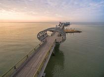Kellenhusen Ostsee Seebrücke Luftaufnahme von Dennis Stracke
