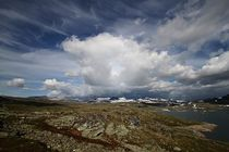 Donutwolken über dem Sognefjell von Petra Arians