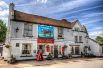 The Bull Pub Theydon Bois von David Pyatt