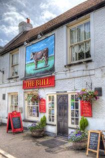 The Bull Pub Theydon Bois by David Pyatt