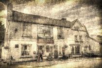 The Bull Pub Theydon Bois Vintage von David Pyatt