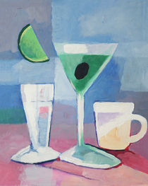 Martini still life by arte-costa-blanca