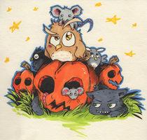 Happy Halloween! by racuun