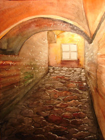 "Lichtgang in der Hagia Sophia in Istanbul by Dorothea ""Elia"" Piper"