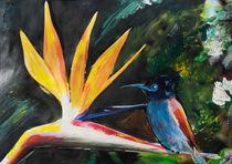 435 Paradiesvogel II. von Géza Székely
