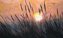460 Sonnenuntergang auf Borkum I. von Géza Székely