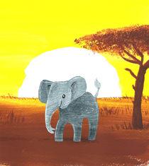 Kleiner Elefant von Julia Reyelt