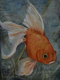 Fengshui VI - Goldfisch von Chris Berger