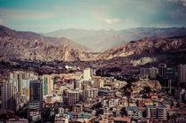 Panorama von La Paz von Doreen Reichmann