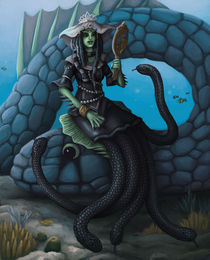 sea serpent queen by sushy