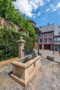 Herrstein-Brunnen Rathausplatz von Erhard Hess