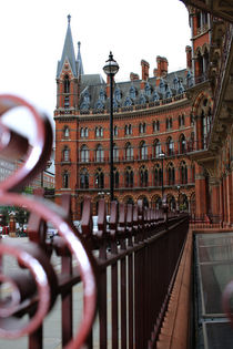 St. Pancras Station in London by Christine Bässler