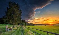 Sonnenuntergang bei Ellringen by photoart-hartmann
