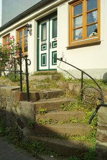 Steintreppe in Flensburg von Sabine Radtke