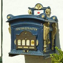 Alter Postbriefkasten von Sabine Radtke