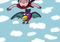 Flying man by Maria Maksimova