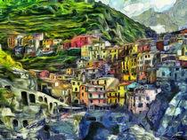 'Manarola, Italien' by Wolfgang Pfensig