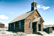 'Bodie - Ghost town - Church' by Chris Berger