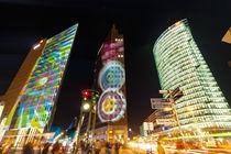 Potsdamer Platz - Festival Of Lights by Nils Lendeckel
