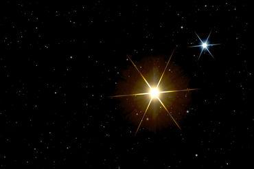"""""""Doppelstern Graffias - Xi Scorpii - binary star ..."""