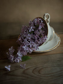 Lilacs and teacups von Jarek Blaminsky